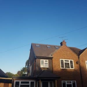 exterior of house with loft conversion